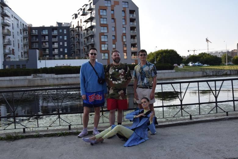 Od lewej: Pavel Vlodarski, Marcin Różyc, Marcin Janusz oraz Justyna Górowska.