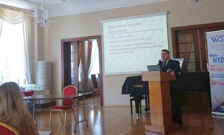 Z okazji Światowego Dnia Sepsy, inowrocławska Fundacja Dzieciom po Sepsie zorganizowała spotkanie połączone z wykładem. W Sali Kryształowej sanatorium