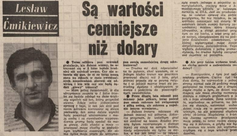 """70-lecie Motoru Lublin: """"Są wartości cenniejsze niż dolary"""""""