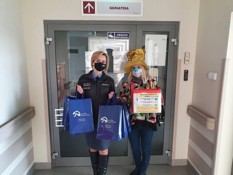 W czwartek 11 lutego kartki z życzeniami zostały przekazane pacjentom szpitala im. Jurasza w Bydgoszczy