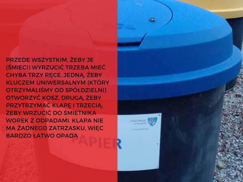 Nowe śmietniki w Koszalinie. Za, czy przeciw? Czytelnicy komentują