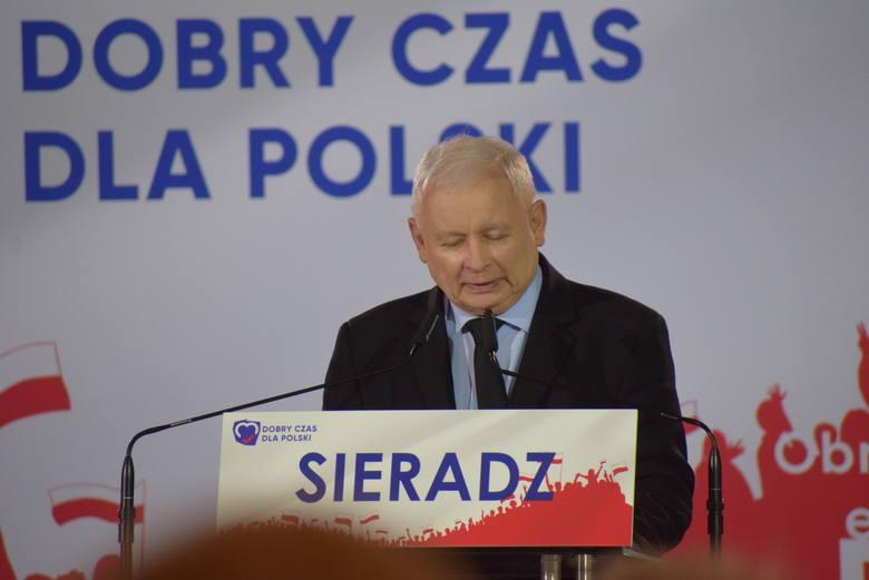 Głównym jej punktem było przemówienie Jarosława Kaczyńskiego. Prezes PiS został entuzjastycznie przyjęty przez zebranych w sali. Kilka razy skandowano