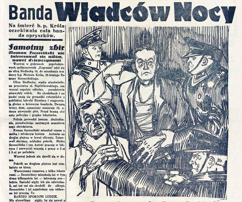 """Władcy nocy"""" terroryzowali Łódź i okolice"""