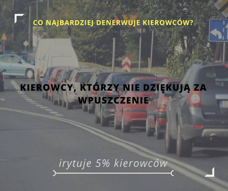 Co najbardziej irytuje polskich kierowców? Oj, jest tego wiele. Oto 20 rzeczy, które właściciele aut wymieniają najczęściej.Przejdź do kolejnego slajdu