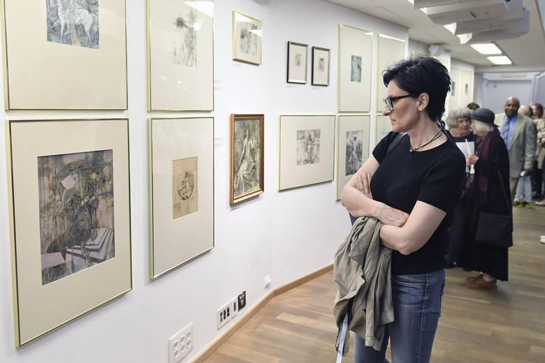 Wystawę dzieł Ryszarda Stryjca, w 20 rocznicę śmierci artysty, można oglądać  do 15 sierpnia 2017 r.