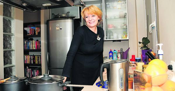 Tak mieszka Hanna Zdanowska, prezydent Łodzi