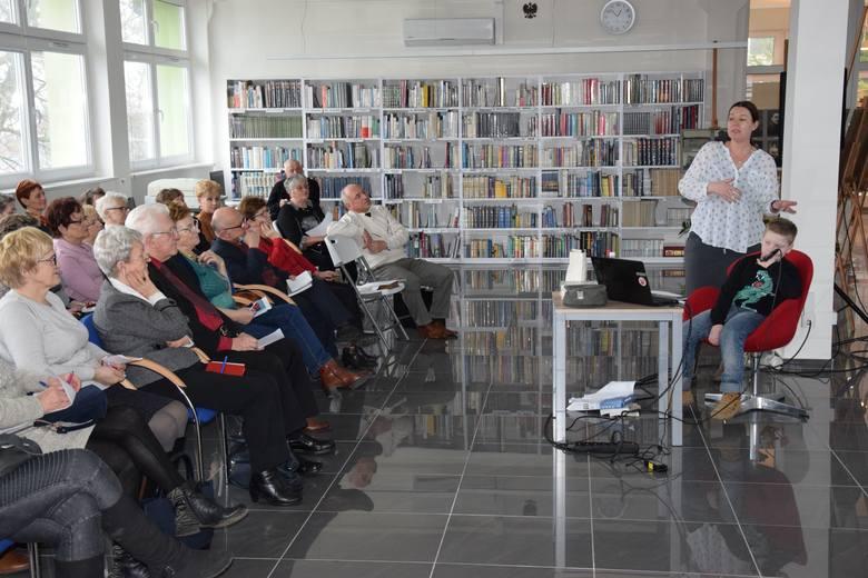 Radziejów, Biblioteka - wykład dla słuchaczy UTWW Miejskiej i Powiatowej Bibliotece Publicznej w Radziejowie odbyły się kolejne zajęcia Uniwersytetu