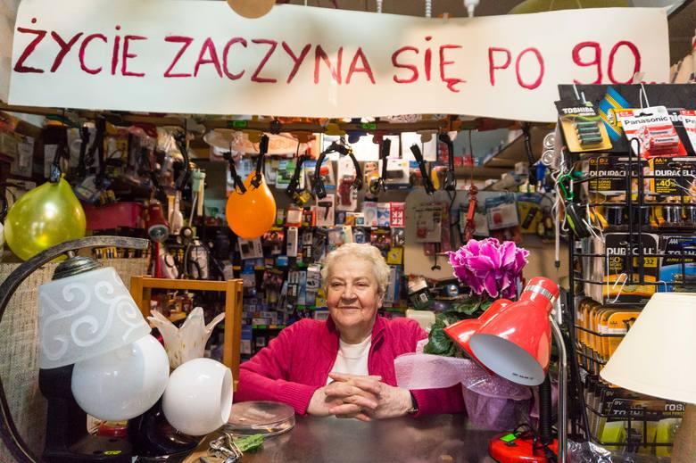 Zaczęła pracę, mając 9 lat. Dziś ma 90 i nie zamierza przestawać