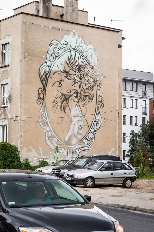To już kolejna bydgoska ściana, jak powstała podczas Bite-Art Festival, który potrwa do 15 lipca. Autorami malowidła przy ulicy Toruńskiej 49 są Adam