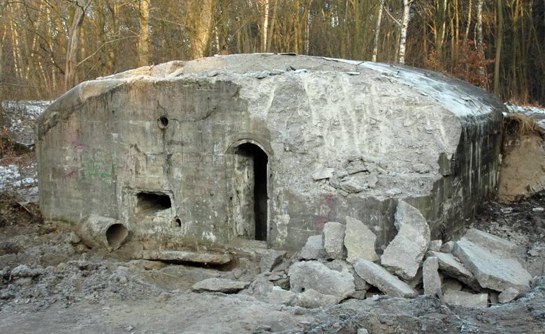 To właśnie tych bunkrów bronią miłośnicy fortyfikacji.