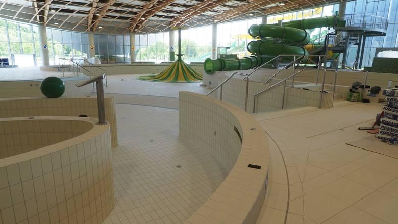 Aquapark w Koszalinie szykuje się do otwarcia [ZDJĘCIA]
