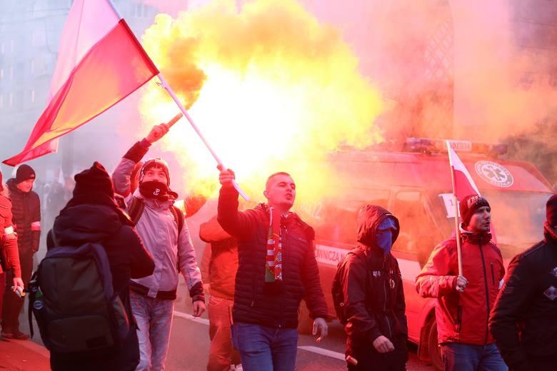 Marsz Niepodległości 2019 ZDJĘCIA Warszawa: Transmisja na żywo. Kontrmanifestacje, trasa marszu, utrudnienia