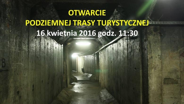 Podziemne trasy turystyczne nad Szmaragdowym. W sobotę zwiedzanie