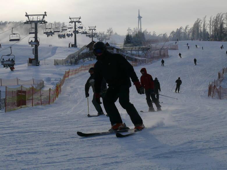 Ośrodek narciarski na górze Kamieńsk