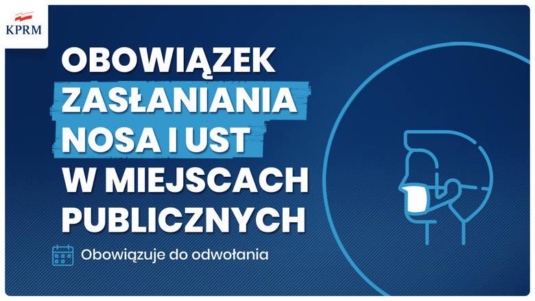 Koronawirus w Polsce: Ograniczenia przedłużone, będzie obowiązek zasłaniania twarzy. Po świętach plan łagodzenia restrykcji