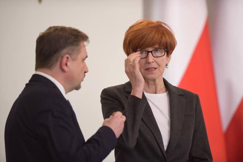 """Minister pracy Elżbieta Rafalska liczy na wsparcie rewolucji w prawie pracy ze strony NSZZ """"Solidarność"""" Piotra Dudy"""