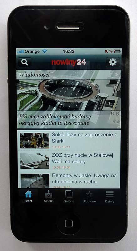 Mobilna wersja portalu nowiny24.pl