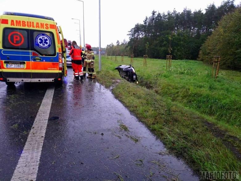 Wypadek w Opolu. Jedna osoba poszkodowana.