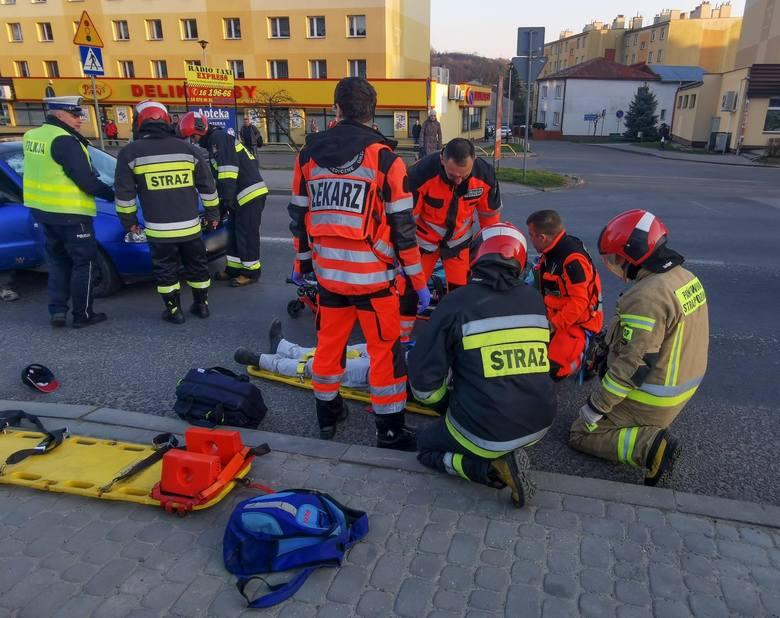 Do wypadku doszło we wtorek na ul. Grunwaldzkiej w Przemyślu.- Ze wstępnych ustaleń policjantów wynika, że kierujący audi, 24-letni mieszkaniec pow.