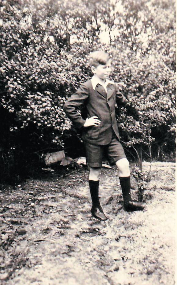 Gerhard Gruschka miał w 1945 roku 15 lat