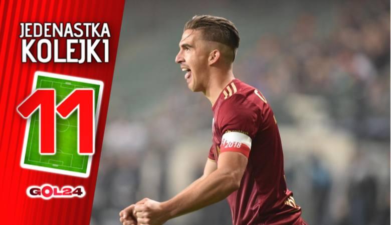 Legia na barkach Carlitosa. Jedenastka 29. kolejki Lotto Ekstraklasy według GOL24 [GALERIA]