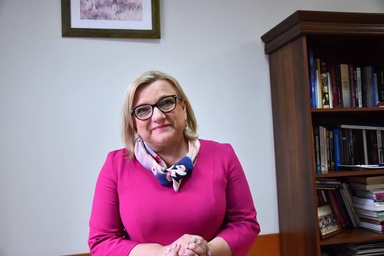 Beata Kempa w Opolu.