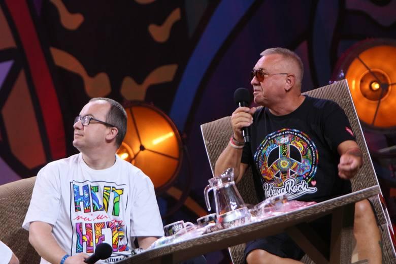 PolAndRock 2019. Debata o hejcie z udziałem Jurka Owsiaka i Adama Bodnara.