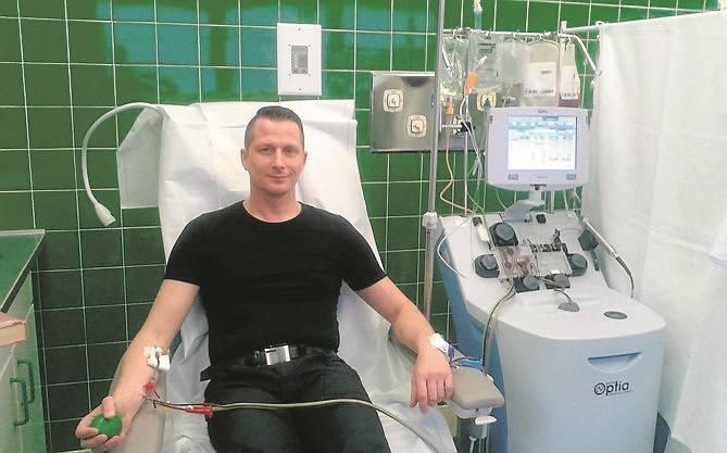 Oddali szpik chorym na raka