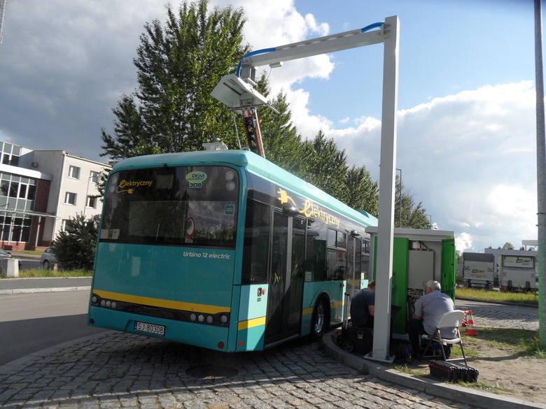 Jaworzno: powstała już stacja doładowująca elektrobus