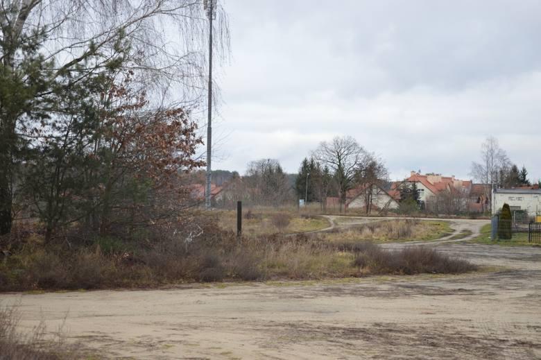 Teren miejskiej działki przy ul. Kapielowej