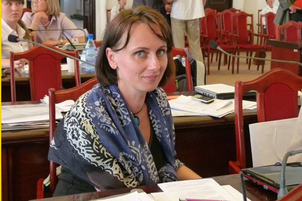 Radna Urszula Niziołek-Janiak nie zamierza zgłaszać sprawy na policję czy do prokuratury. Zapowiada, że wyśle list  do stowarzyszenia kibiców Widzewa.
