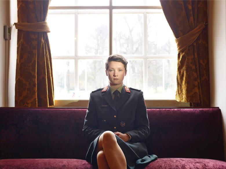 """WORLD PRESS PHOTO 2015. Trzecie miejsce w kategorii """"Portrety - fotoreportaż"""". Paolo Verzone wykonał serię portretów kadetów najważniejszej akademii wojskowej w Europie - holenderskiej Koninklijke Militaire Academie."""
