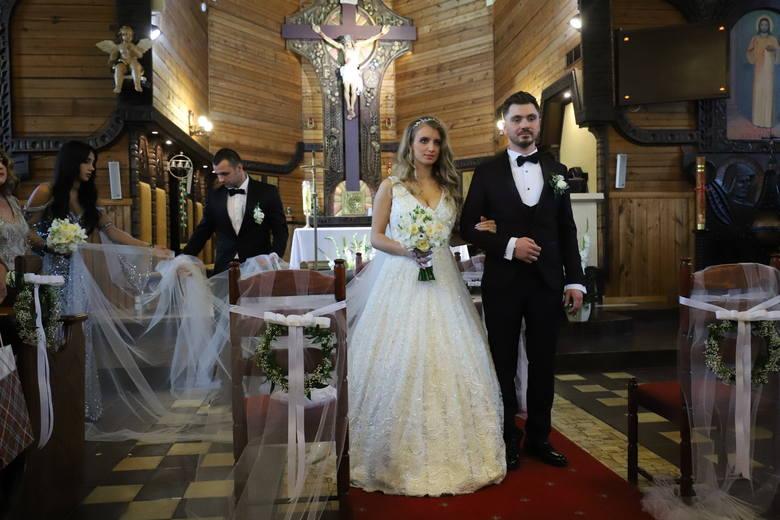 Daniel Martyniuk i Ewelina Golczyńska