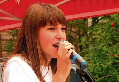Natalia Hodurek pięknie śpiewa i kolekcjonuje nagrody FOT. MACIEJ HOŁUJ