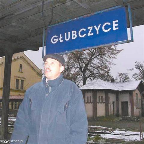 - Kolej jest u nas od 1876 roku - wyjaśnia Piotr Kopczyk z Głubczyc. - Teraz też na pewno miałby kto jeździć pociągami. (fot. Sławomir Draguła)