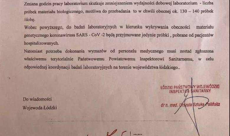 Słowa te potwierdza Zbigniew Solarz, rzecznik prasowy Wojewódzkiej Stacji Sanitarno- -Epidemiologicznej w Łodzi. - Od 1 maja do 3 maja nasze laboratorium