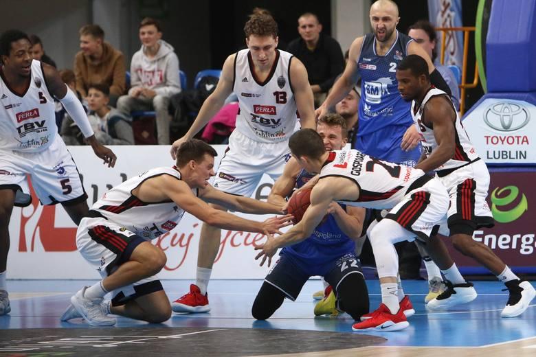 Czerwono-czarna sobota. Zwycięstwo koszykarzy TBV Startu Lublin z BM Slam Stalą Ostrów Wlkp. 88:83