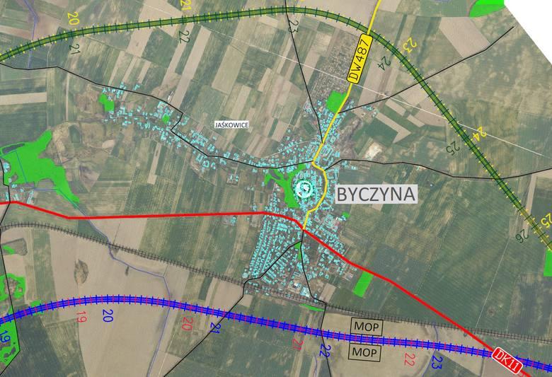Tak będzie wyglądał przebieg drogi ekspresowej S11 na Opolszczyźnie.