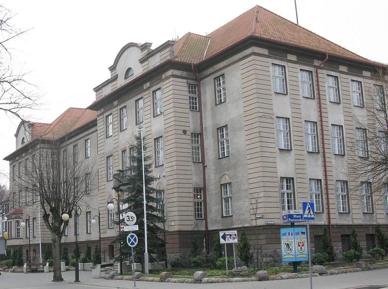 Urząd miasta w Miastku.