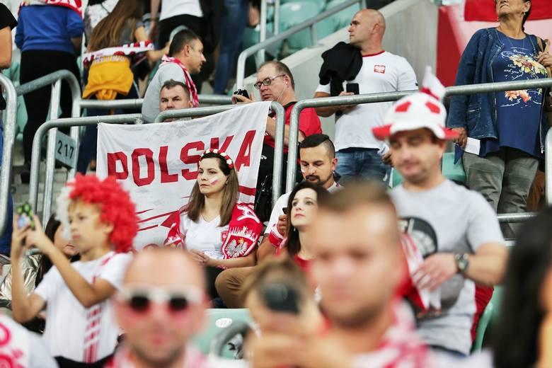 Kibice na meczu Polska - Irlandia we Wrocławiu [ZDJĘCIA]