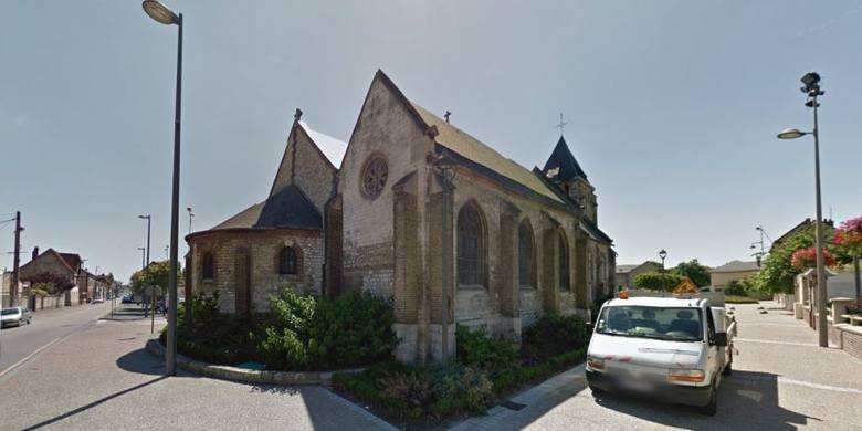 Francja Saint Etienne Du Rouvray Napastnicy Wzi Li