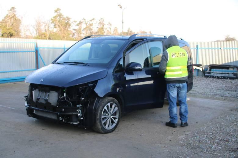 Szubińscy policjanci odzyskali samochód marki Mercedes warty ponad 260 tys. złotych, który został skradziony na terenie Niemiec. - Policjanci ustalili,