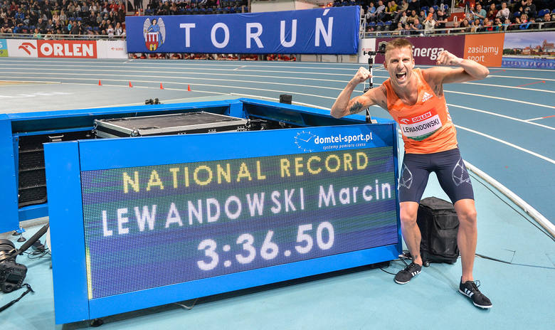 Rekord Polski Lewandowskiego na Orlen Copernicus Cup w Toruniu