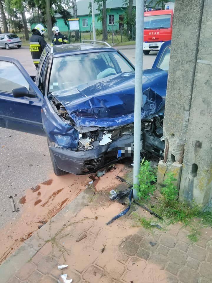 Przed godziną 8 doszło do wypadku na skrzyżowaniu ulic Augustowskiej i Rzemieślniczej w Suchowoli.