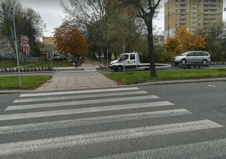 Do tragedii doszło na przejściu dla pieszych.