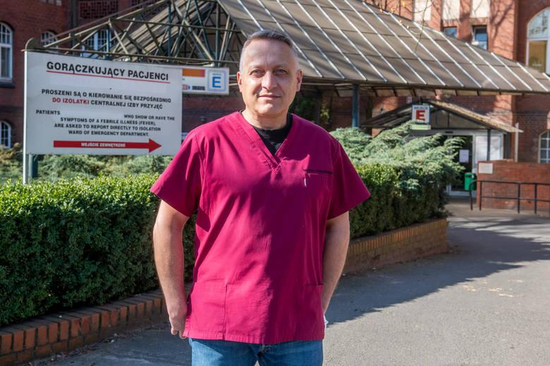 Prof. Marek Karczewski, znany poznański chirurg ze Szpitala Klinicznego im. Heliodora Święcickiego