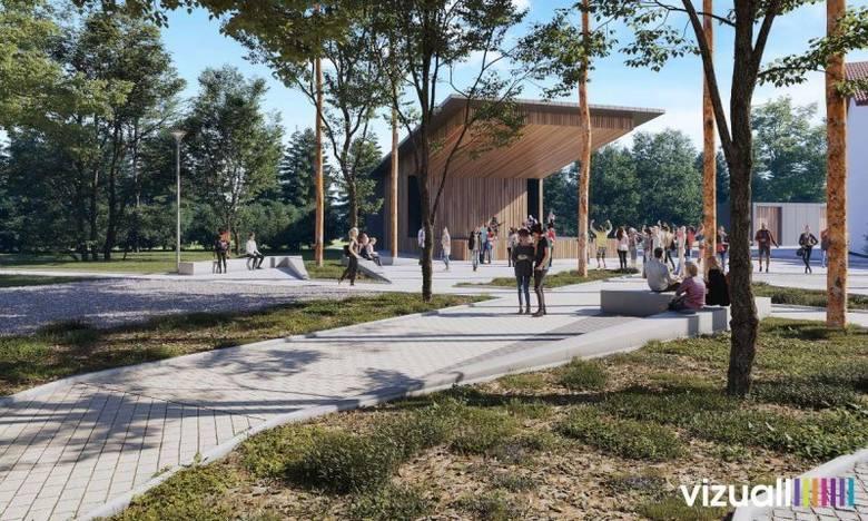 Rewitalizacja centrum Kłaja. Wybudują park [WIZUALIZACJE]