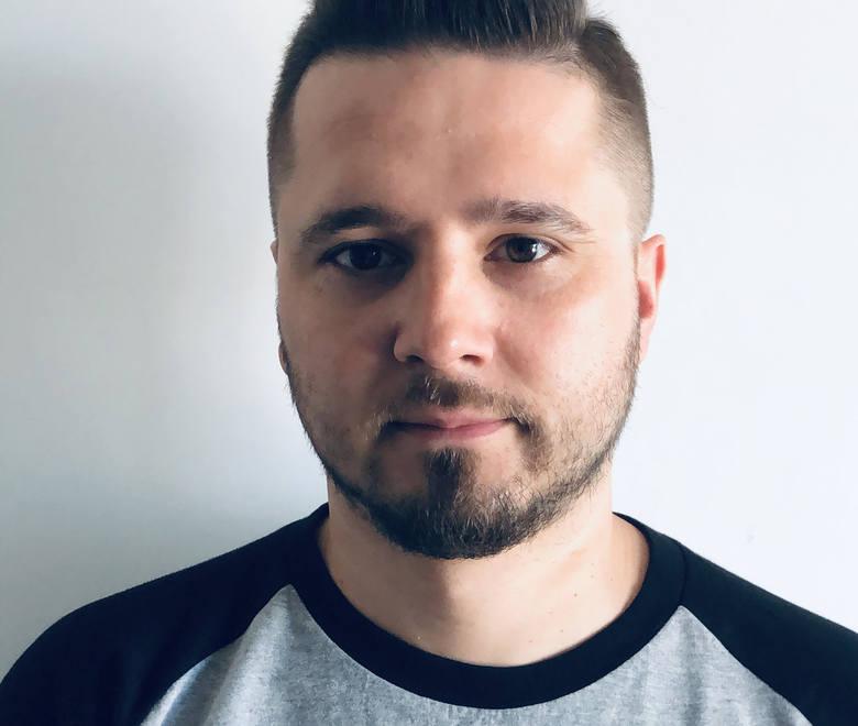 Artur Tylmanowski, dyrektor artystyczny Cieszanów Rock Festiwal.