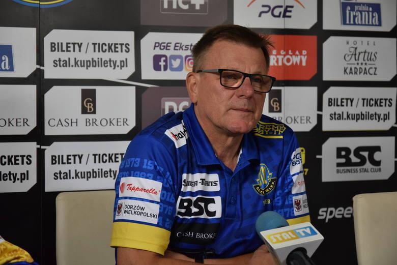 Trener Stali Gorzów Stanisław Chomski