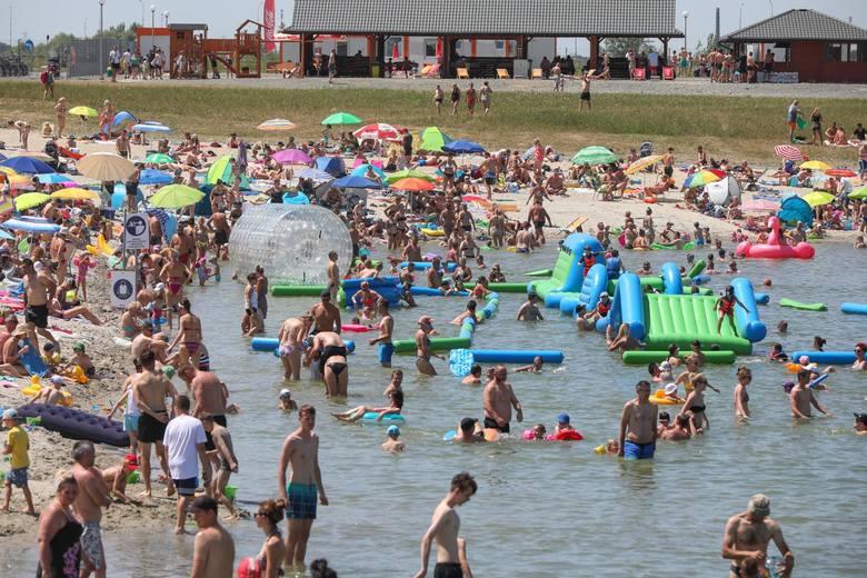 Kąpielisko w Brzegach - zdjęcia z zeszłego sezonu